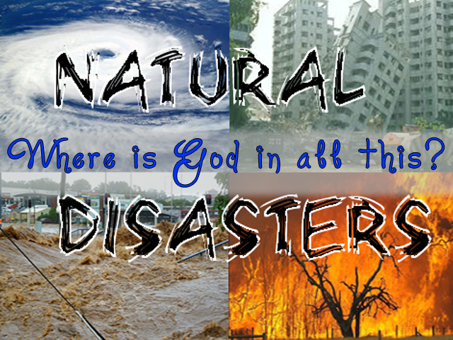 Natural disasters?