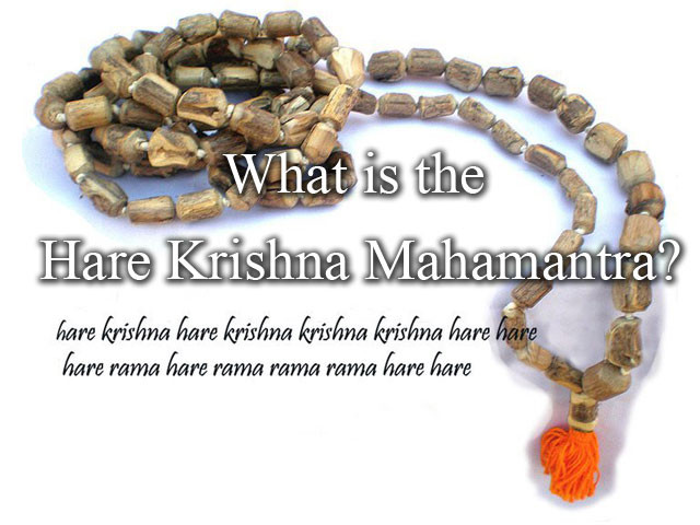 What is the Hare Krishna Mantra?